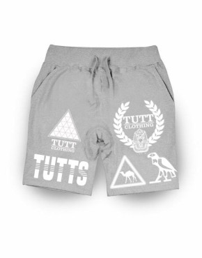 TUTTS LOGO BOXER GREY SHORTS | Bottoms | ontario, Canada