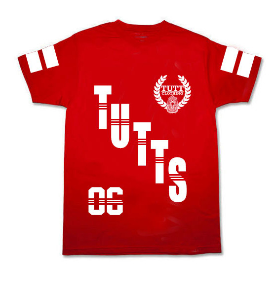 TUTTS OVER SIZED TEE RED | short sleeves | Toronto, Ontario, Canada