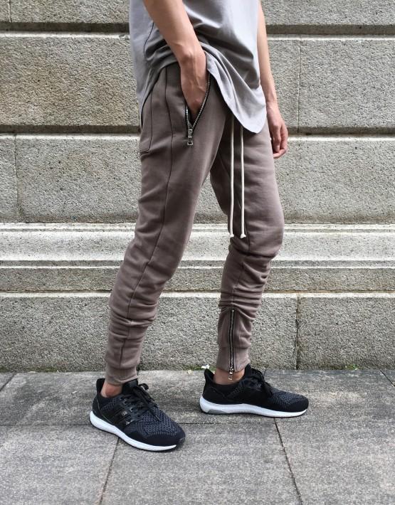 Ankle zip joggers | tuttsdesigns | Toronto, Ontario, Canada
