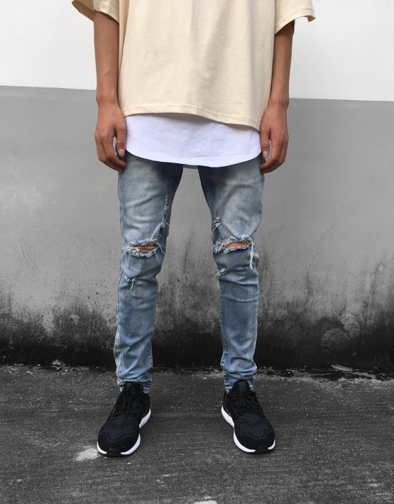 Essential Destroyed Jeans | Bottoms | Toronto, Ontario, Tuttsdesigns