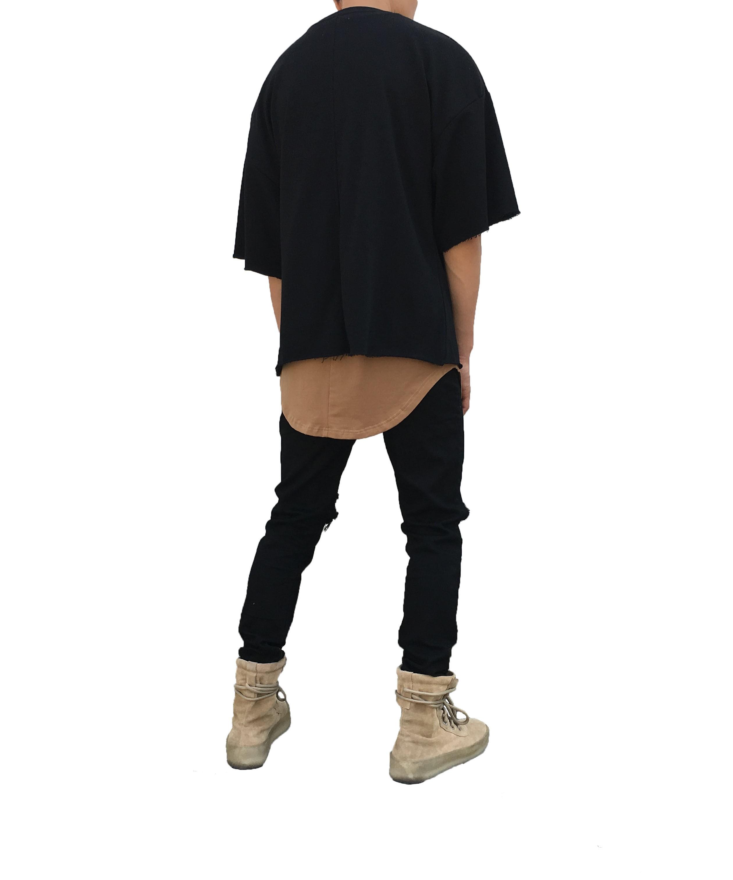 RAW SHORT SLEEVE SWEATER YELLOW   T Shirts   Ontario, Canada