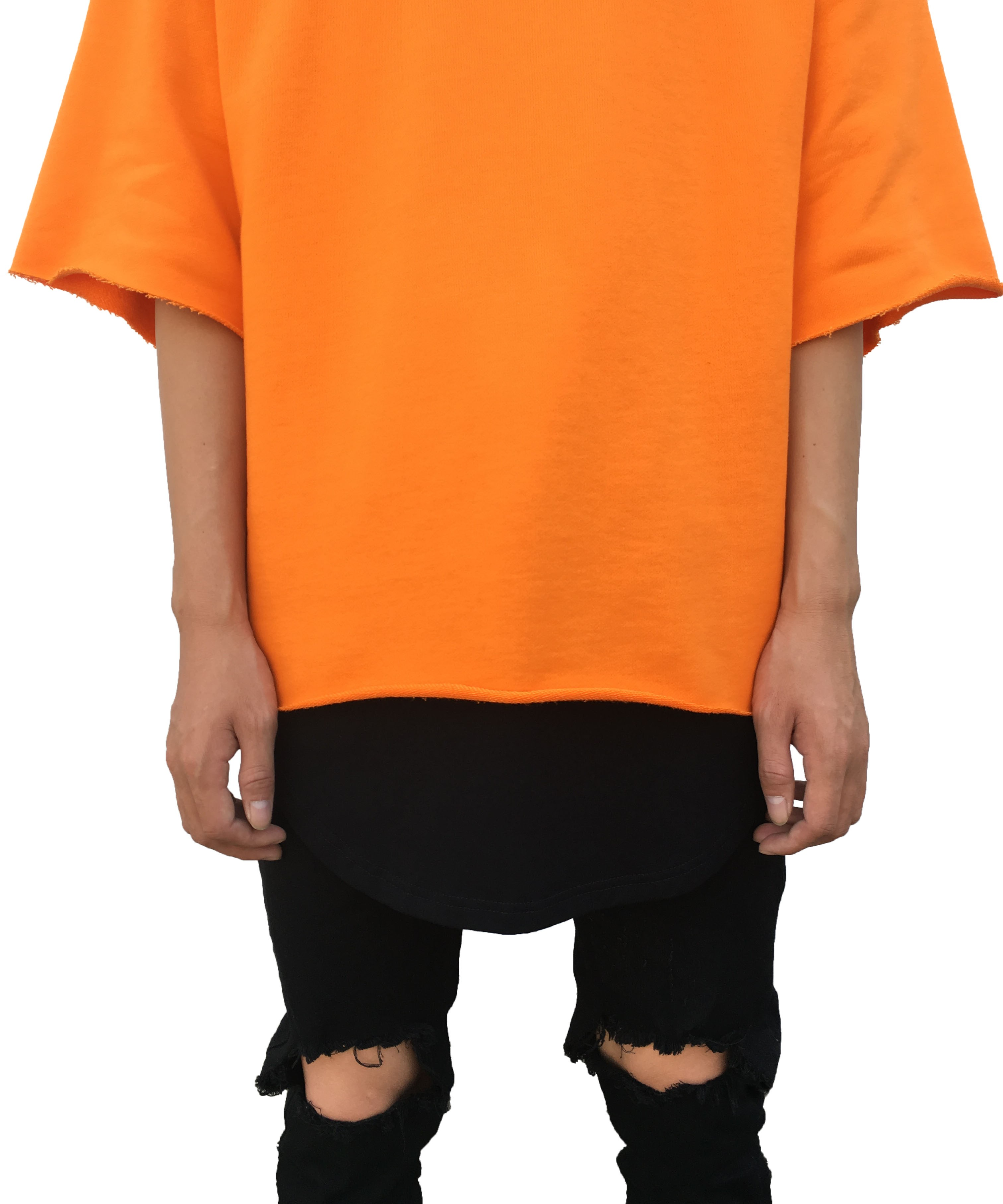 RAW SHORT SLEEVE SWEATER YELLOW | T Shirts | Ontario, Canada