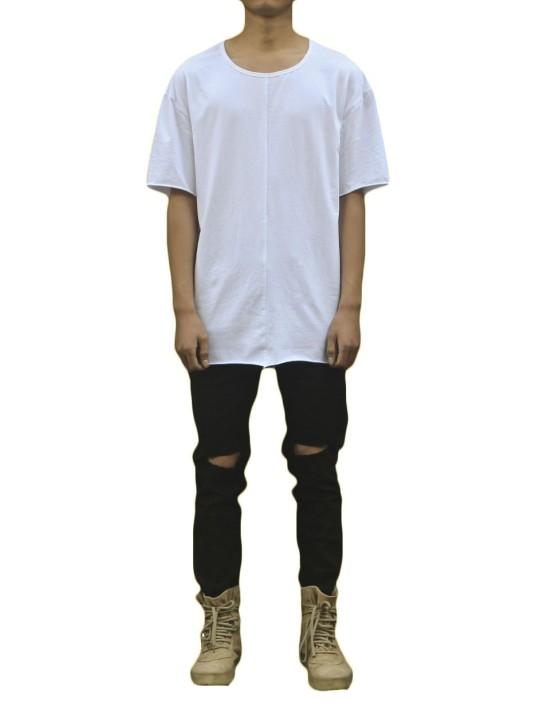 raw tee white| short sleeves tshirts | toronto, ontario, canada