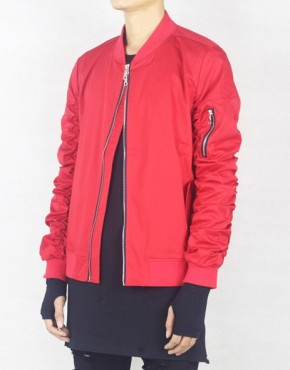 RED BOMBER JACKET | Men Clothing | Toronto, Ontario, Canada