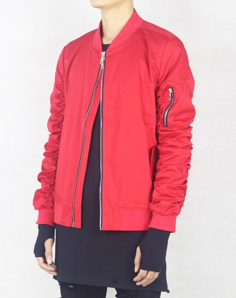 Beroemd RED BOMBER JACKET | Men Clothing | Toronto, Ontario, Canada #DI51