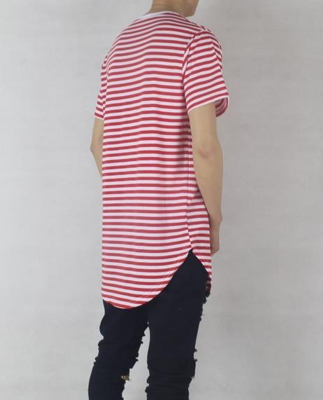 red Stripped T Shirt | Short Sleeves TShirt | Toronto, Ontario, Canada