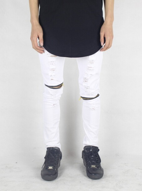 White ripped jeans | Men Clothing | Toronto, Ontario, Canada