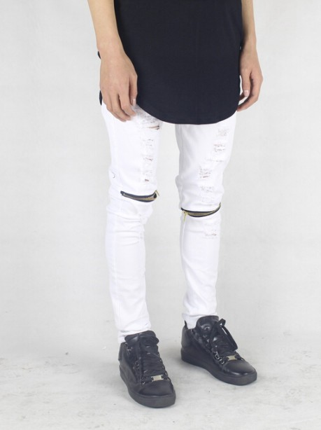ripped jeans White| Men Clothing | Toronto, Ontario, Canada