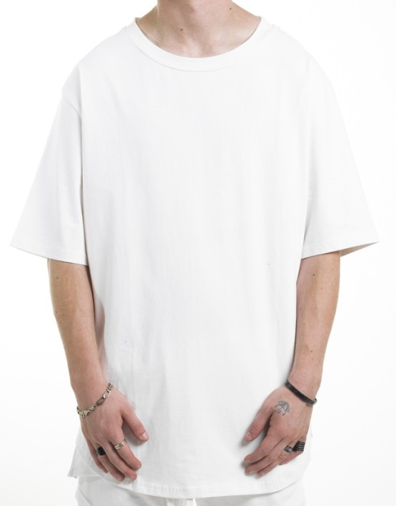 SCALLOP TEE white | Short sleeves T Shirt | Toronto, Ontario, Canada