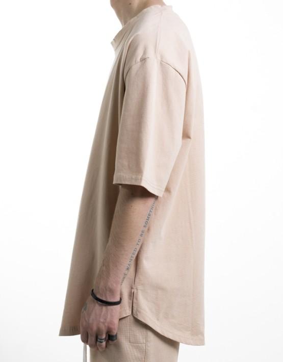 SCALLOP TEE SAND | Short sleeves T Shirt | Toronto, Ontario, Canada