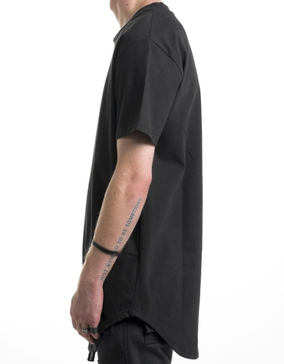 SCOOP TEE black | Short sleeves T Shirt | Ontario, Canada