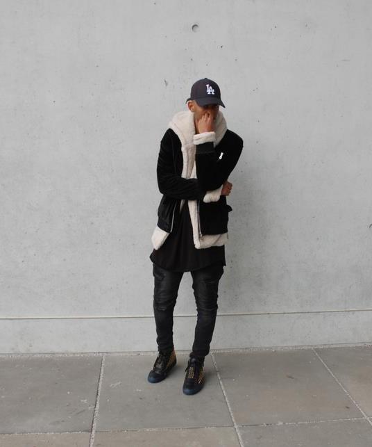 Sherpa Hoodie Black | Sweat shorts Hoodies | Toronto, Ontario, Canada