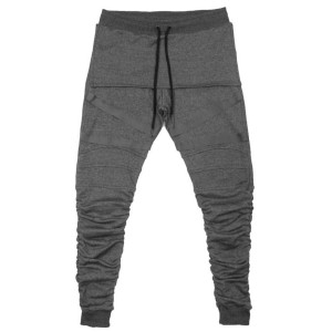 JOGGERS CHARCOAL | STRAPPED GATHERED | Toronto, Canada