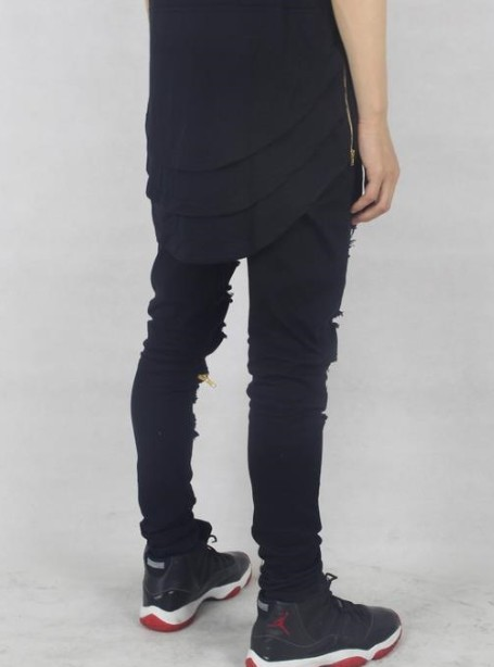 Cool 3 Layer black T Shirt | short sleeves tshirts | Toronto, Ontario, Canada