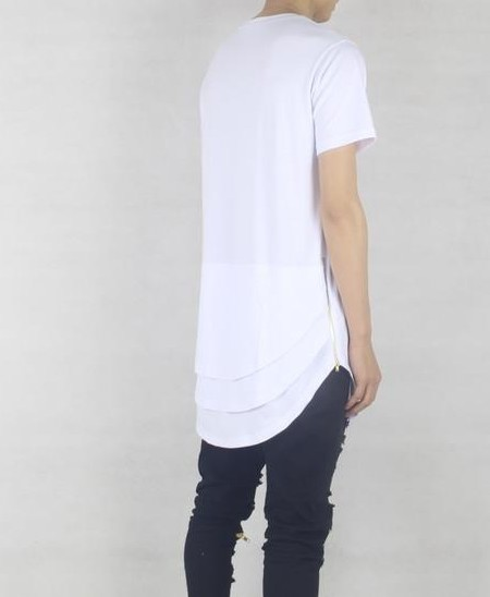 Cool 3 Layer white T Shirt | short sleeves tshirts | Toronto, Ontario, Canada