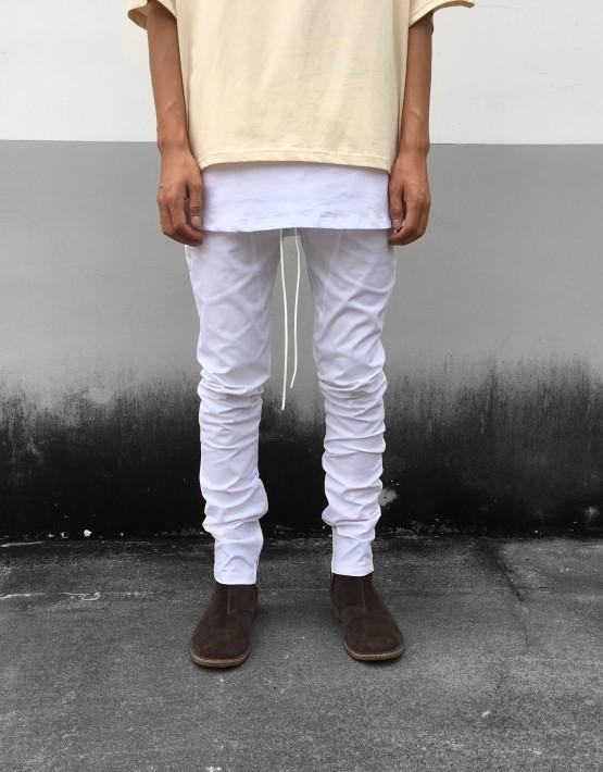 Drawstring Zip Trouser | tuttsdesigns | Toronto, Ontario, Canada