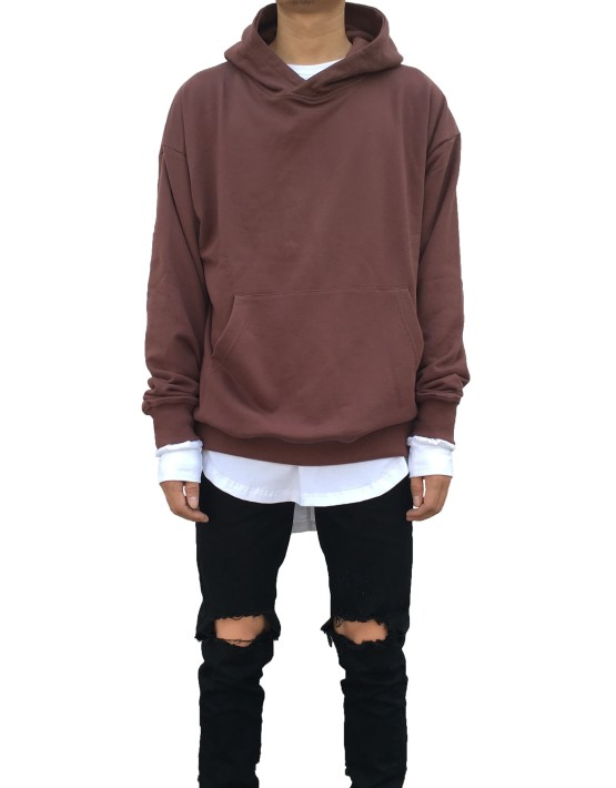 Pullover Hoodie chocolate | Sweat shorts Hoodies | Toronto, Ontario, Canada