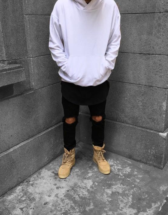 Pullover Hoodie white | Sweat shorts Hoodies | Toronto, Ontario, Canada