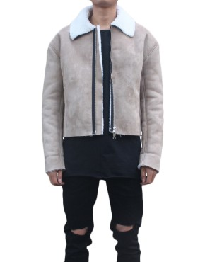 Shearling Flight Coat | Jackets | toronto, ontario, canada