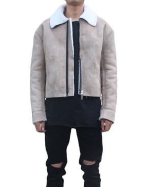 Shearling Flight Coat | Jackets | toronto, ontario, canada