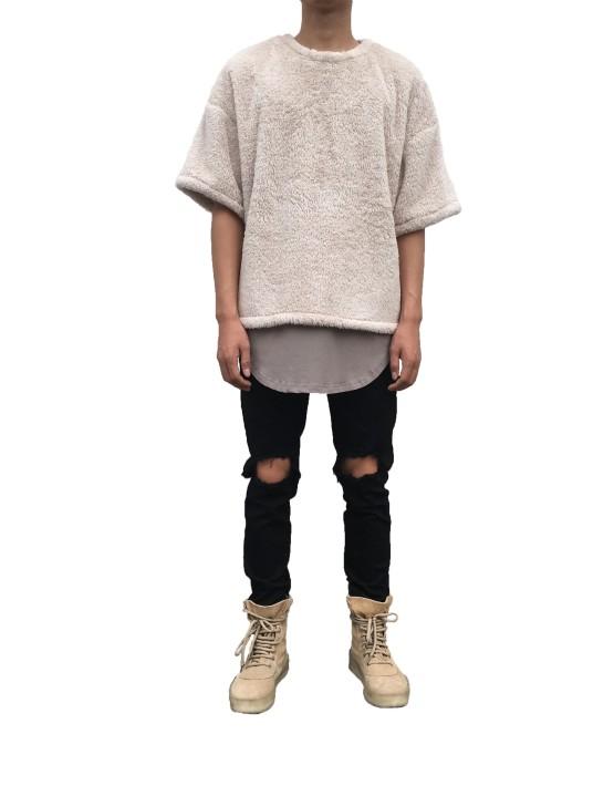 Sherpa Oversize Tee | Sweat shorts Hoodies | Toronto, Ontario, Canada