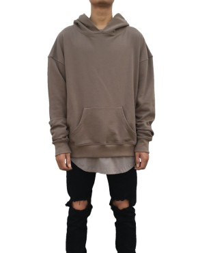 Side Split Hoodie grey | Sweat shorts Hoodies | Toronto, Ontario, Canada