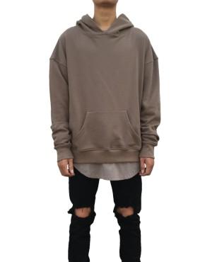 Side Split Hoodie grey | Sweat shorts Hoodies | Toronto, Ontario, Canada