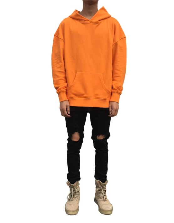 Side Split Hoodie orange | Sweat shorts Hoodies | Toronto, Ontario, Canada