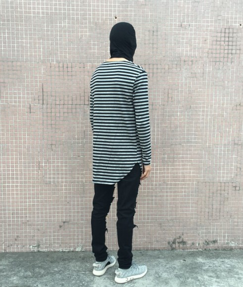 Striped Long Sleeve T Shirt | Toronto, Ontario, Canada