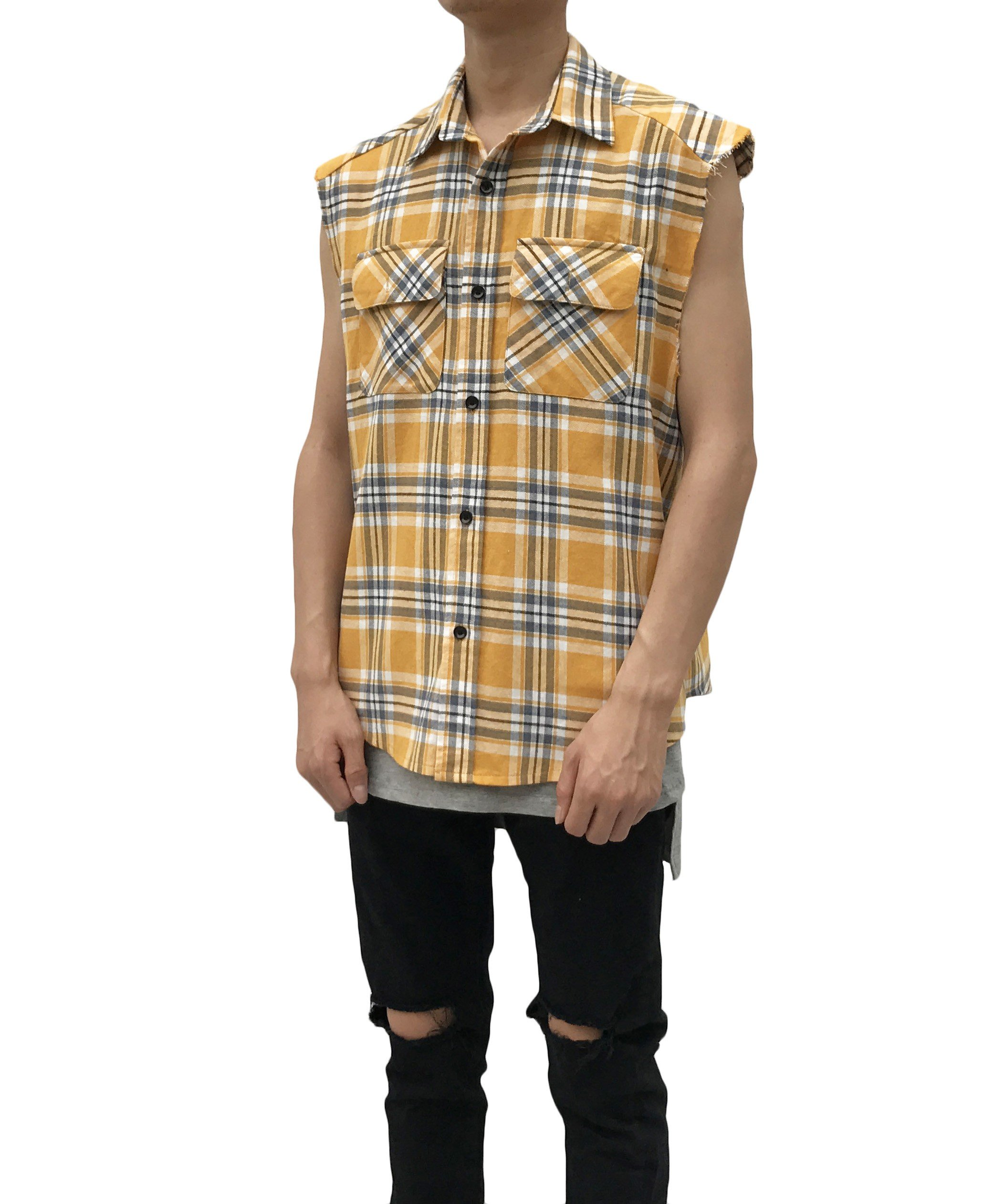 Cut Off Flannel Shirt Tutt Designs