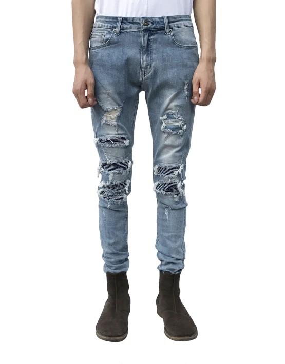 patchwork-biker-jeans
