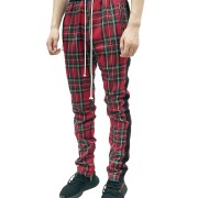 Plaid-Zip-Track-Pant