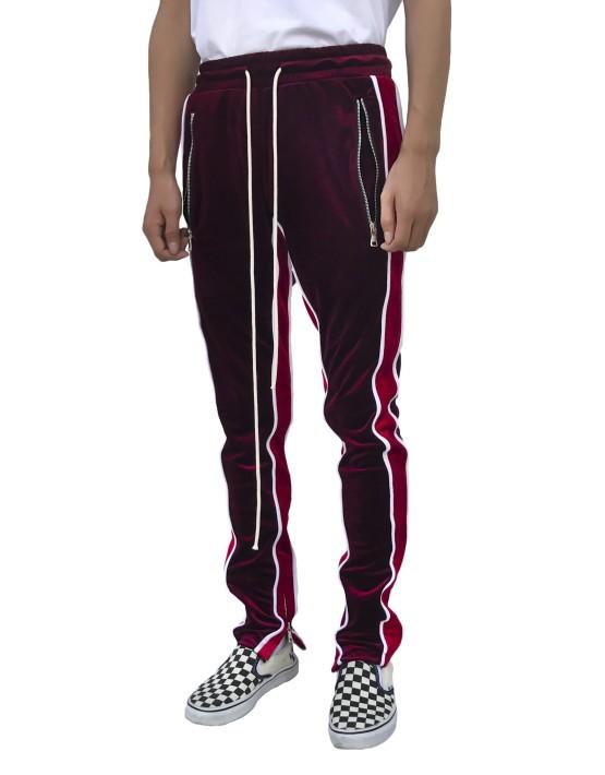 Velour-Track-Pants